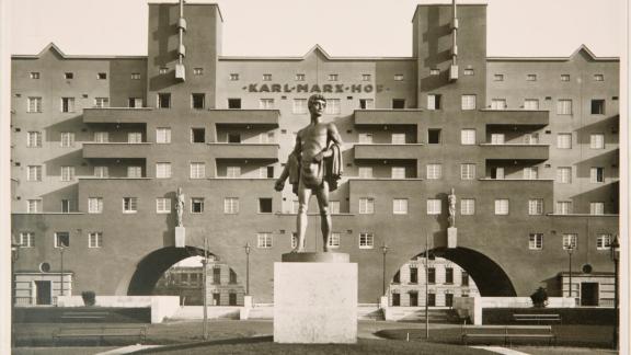 Karl-Marx-Hof, historisch, Fassade, Architektur, Stadtplanung