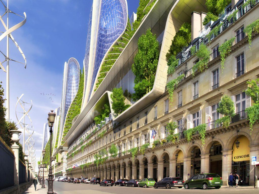 Mountain Towers: Architekt Callebauts Idee gegen Hitzeinseln