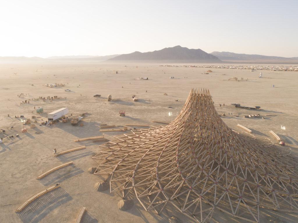 Temple Galaxia, Mamou Mani, Burning Man,