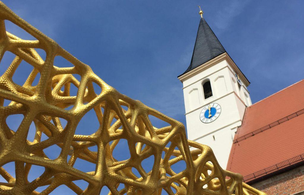 Außenansicht der St. Laurentius Kirche Außenansicht