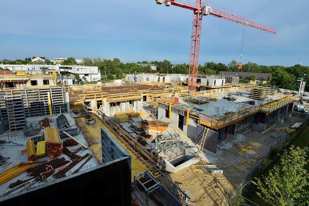 In der Muehlgrundgasse im 22. Wiener Gemeindebezirk kommt erstmals im sozialen Wohnbau die Thermische Bauteilaktivierung zum Einsatz.