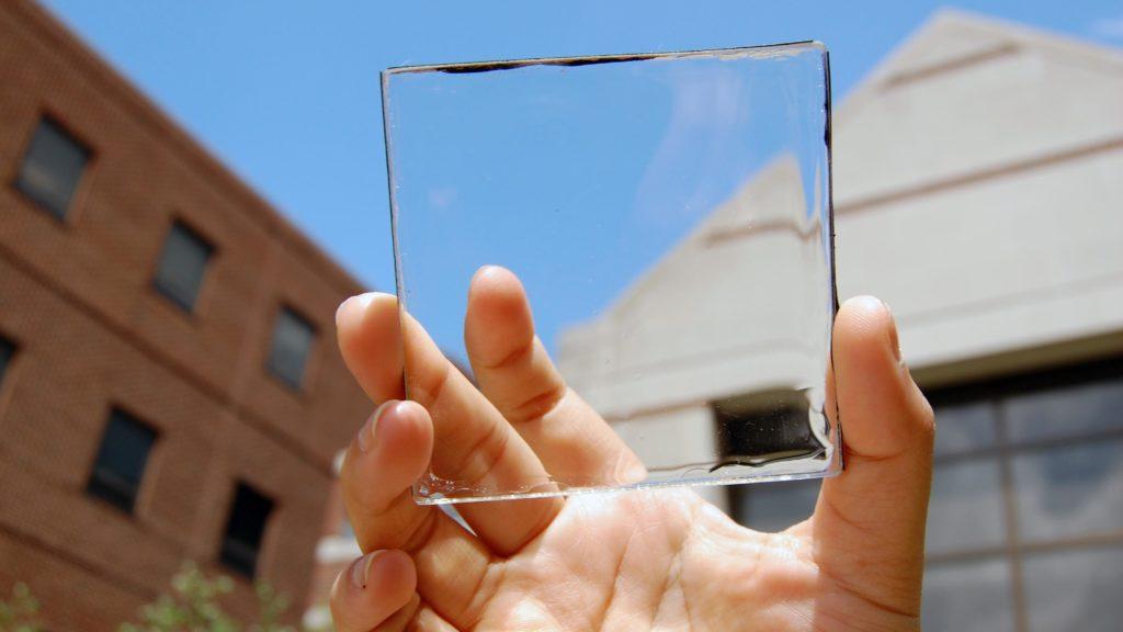Fenster als Solarpaneele