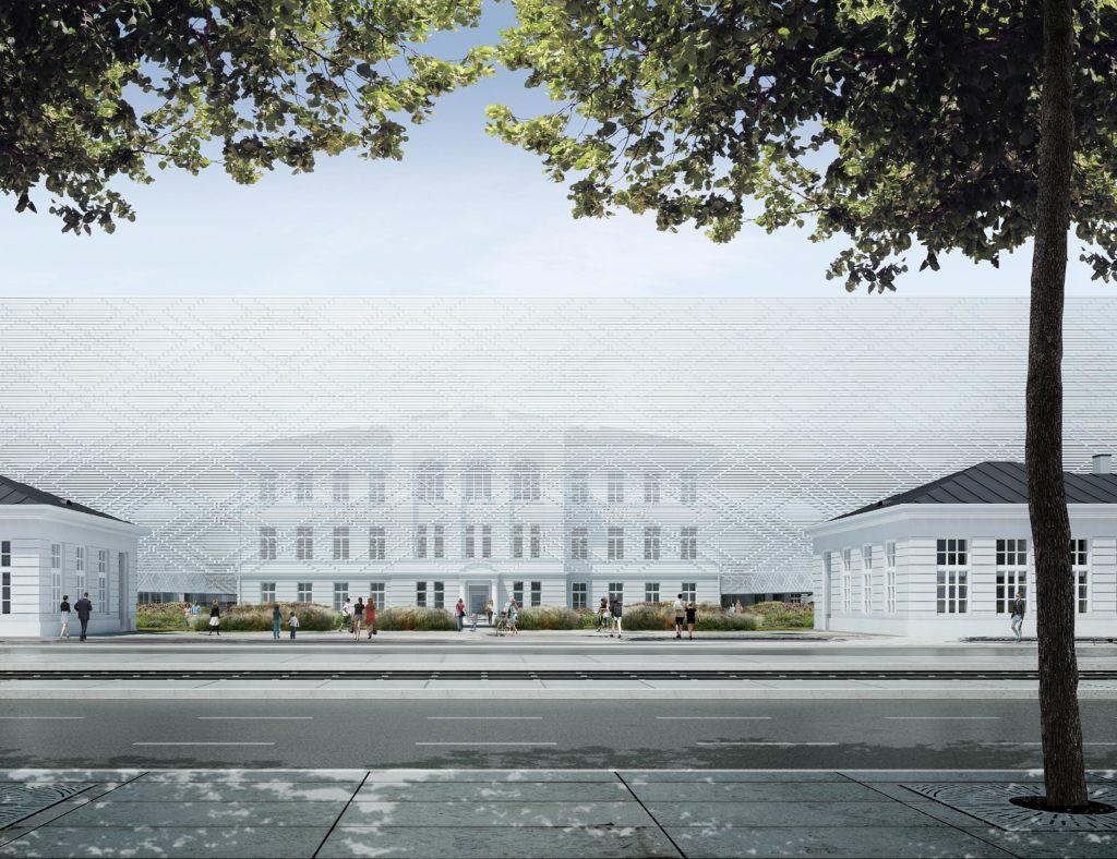 Neues Konzerthaus in Warschau