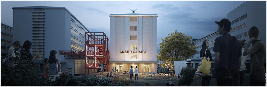 Beispielhaft für die anhaltende Aufbruchsstimmung in der Tabakfabrik Linz ist die im März 2019 eröffnete Innovationswerkstatt GRAND GARAGE.