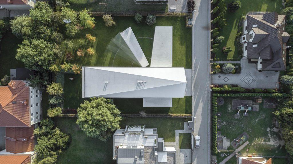 Das Haus, das mit der Sonne wandert, Quadrant House, Robert Konieczny, KWK Promes
