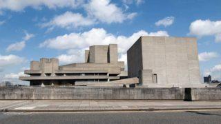 Brutalistischer Bau in England