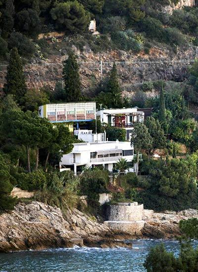 Das Cap Moderne in Roquebrune-Cap-Martin