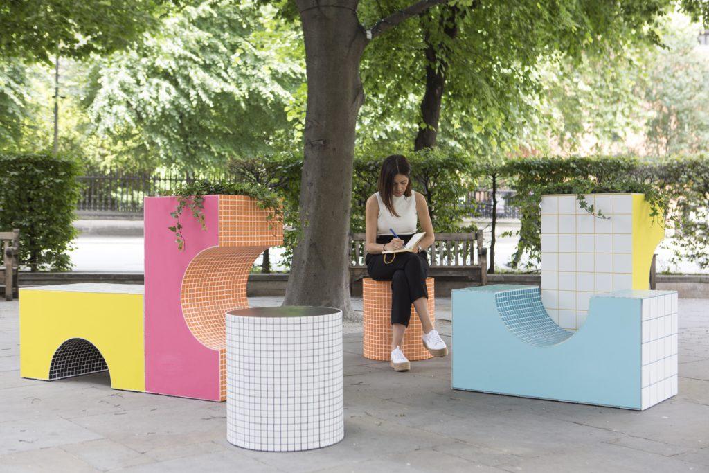 """Verspielt, flexibel, heimelig: Die """"City Blocks"""" von Astrain Studio Architects sind Kinderspielzeug nachempfunden (Foto: LFA, Agnese Sanvito)"""