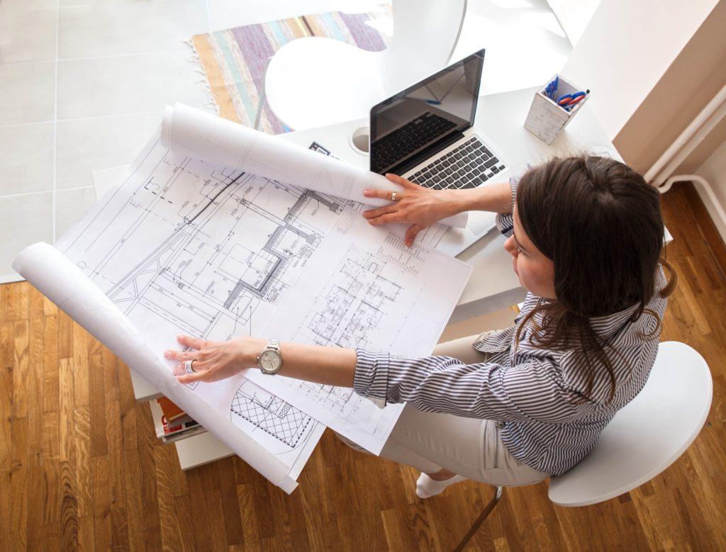 Baupläne Architekturbüro
