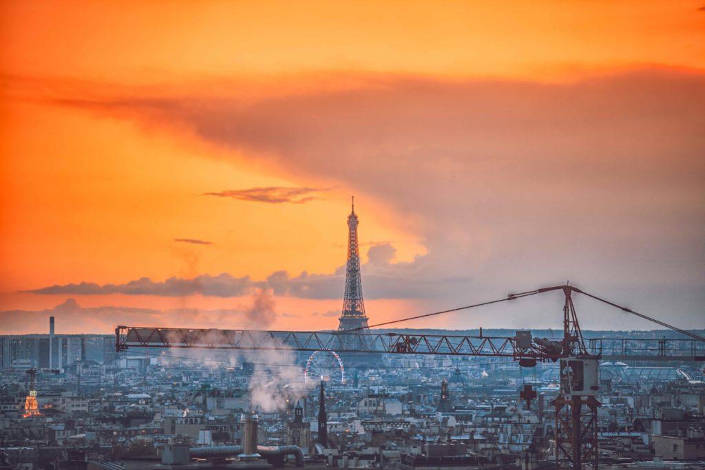 Großbaustelle, Paris