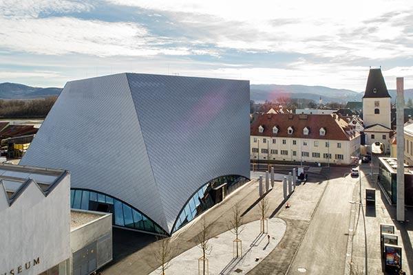 Die Landesgalerie ist Teil der Kunstmeile Krems.