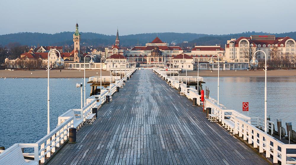 Sopot Pier bei Danzig