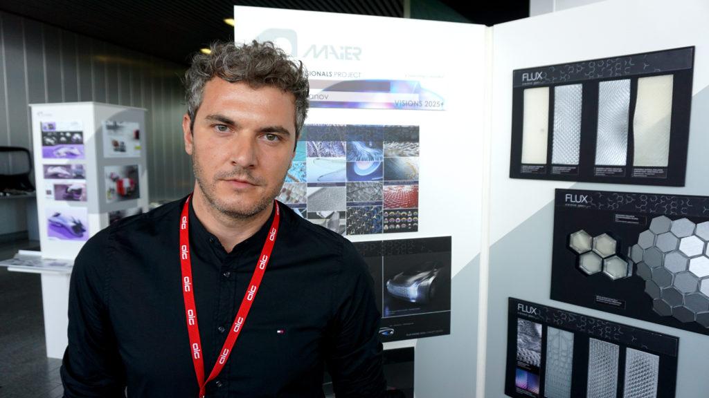 """Ob """"Bio Informed"""" oder das Sieger-Projekt """"Flux"""": Innovatives Material spielt für Nikolay Hristov Ivanov in jedem Fall eine gewichtige Rolle. Inspiration dazu holt er aus der Natur. (Foto: Ivanov)"""