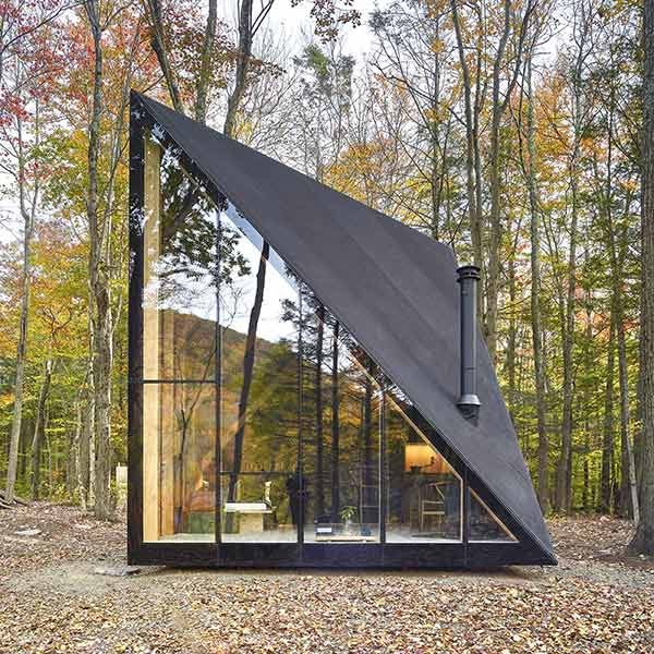 Die Hütte A45 vom Architekturbüro Bjarke Ingels Group