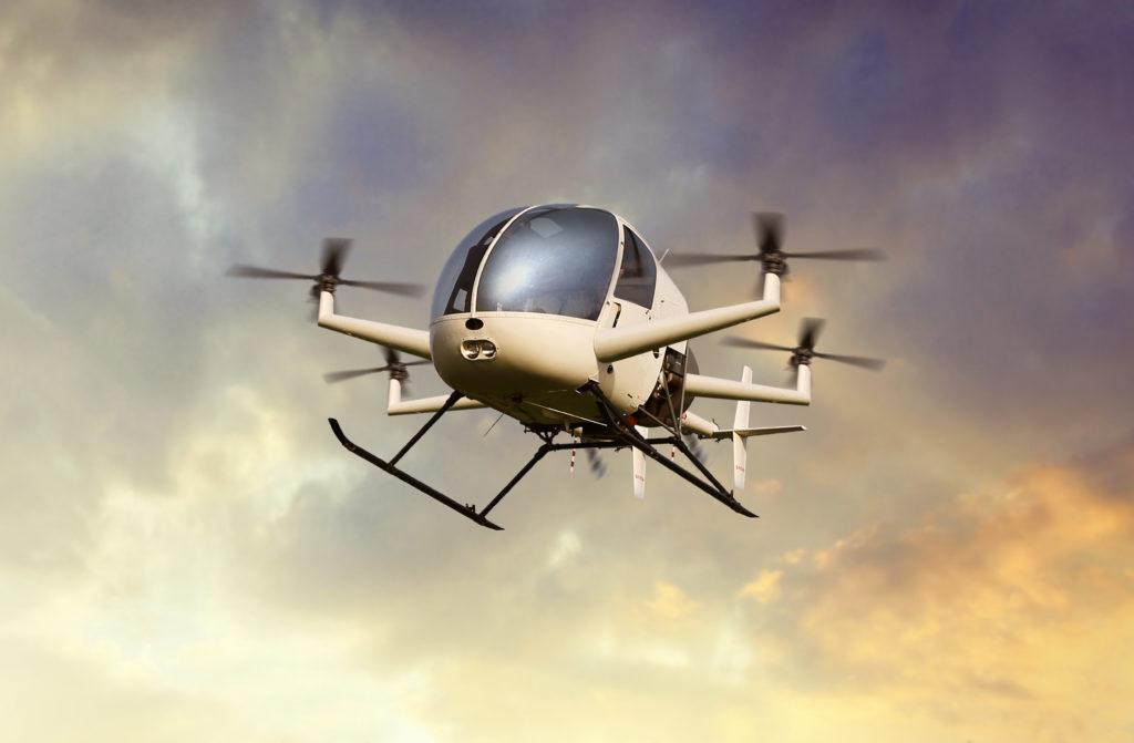 Drohnen-Taxis statt Gedränge auf dem Weg zur Arbeit: Autofahren soll in Neom nur noch zum Vergnügen nötig sein. (Symbolbild – Foto: GettyImages)