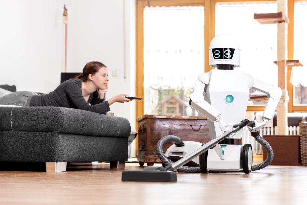 Roboter sollen den Bewohnern der Zukunftsstadt Neom lästige Routinearbeiten abnehmen – damit mehr Zeit für hoch qualifiziertes Schaffen bleibt. (Symbolbild – Foto: GettyImages)