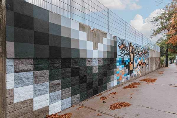Mural des Wiener Street Artists Moiz
