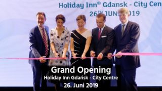 Grand Opening des Holiday Inn Gdańsk - City Centre