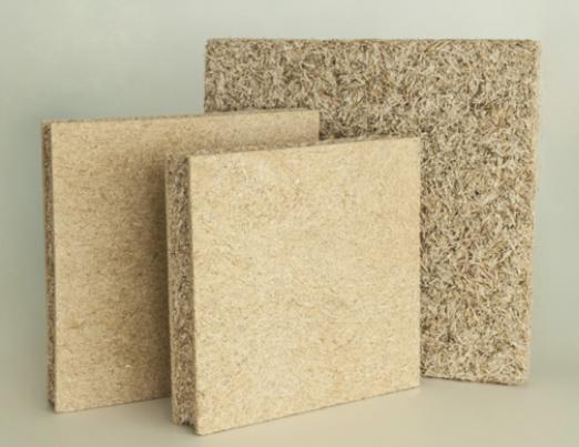 Bauen mit Stroh mit innovativen Strohplatten im Innenausbau
