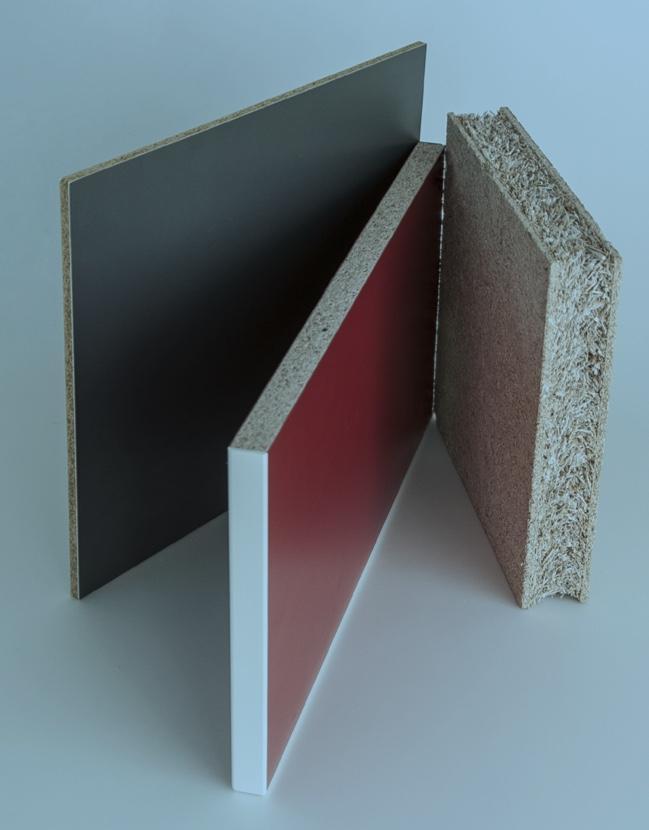 Strohplatten als Möbel- und Dekorplatten