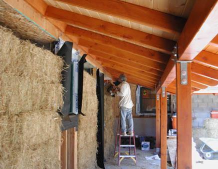 Bauen mit Stroh wird wieder modern