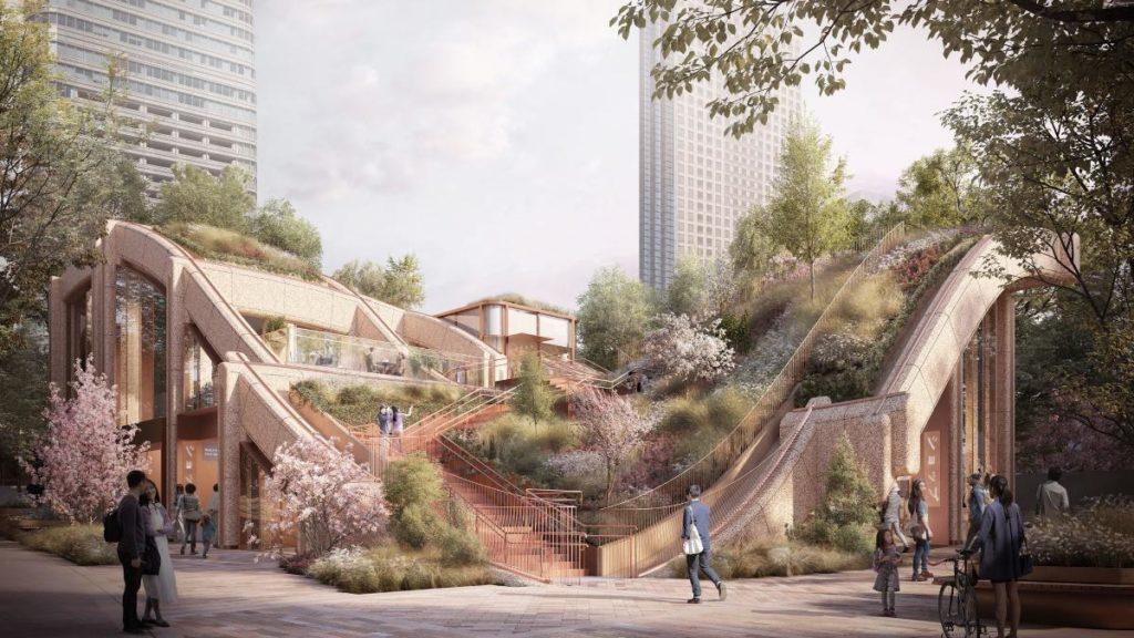Mega-Projekt: Tokios gigantische Laube