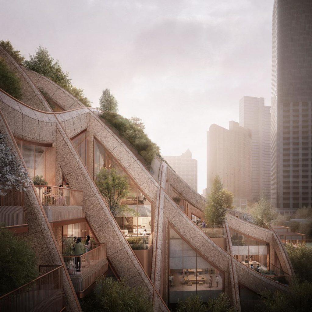 Tokios Mega-Projekt soll möglichst bald viel Raum für lebenswertes Wohnen und Arbeiten bieten. (Bild: Heatherwick Studio / DBOX for Mori)