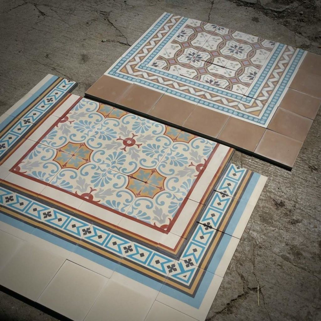 Professionally laid and impregnated tiles (Photo: Schleidt)