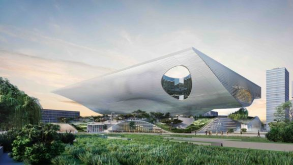 Xingtao Science & Technology Museum Coop Himmelb(l)au