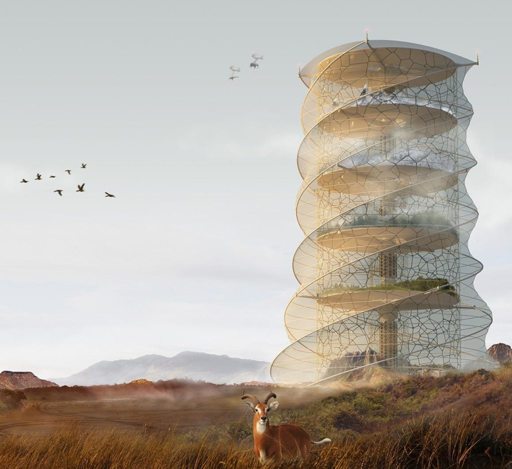 Creature Ark Biosphere Skyscraper