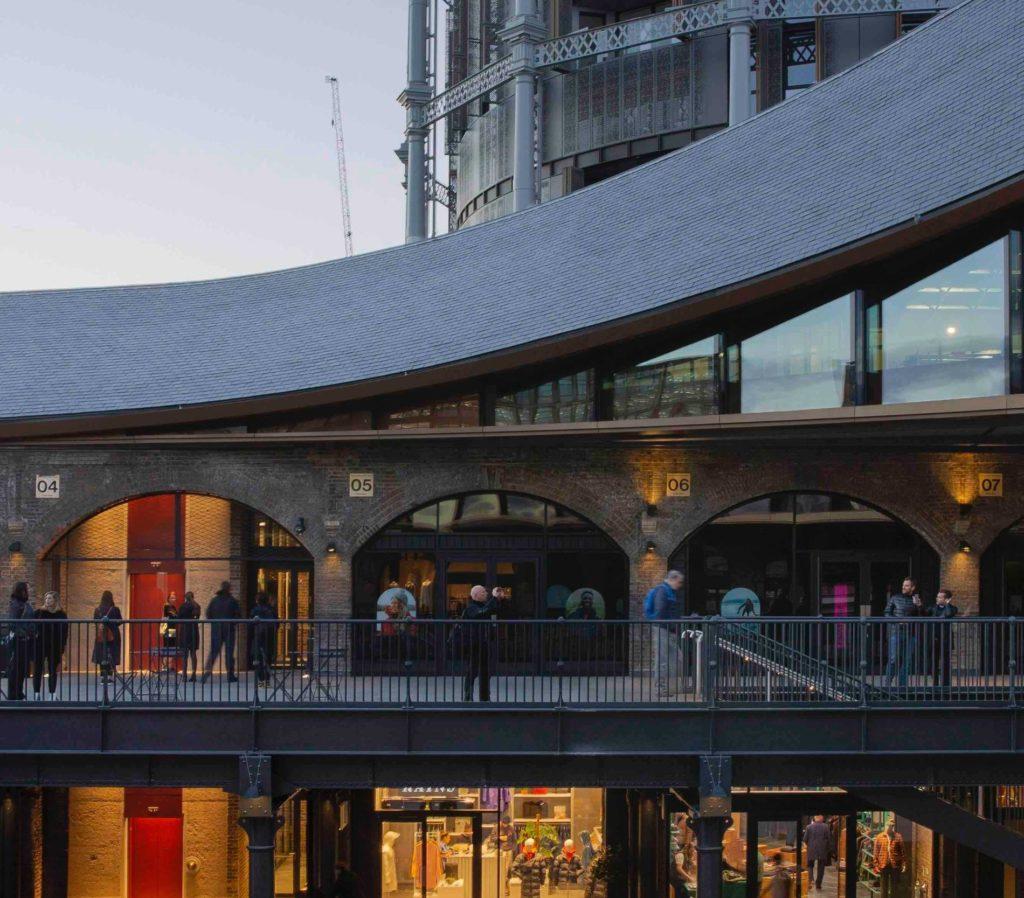 Heatherwick Studios Design des Londoner Coal Drops Yard: World Winner 2019 in der Kategorie Shopping Mall Design (Foto: Luke Hayes)