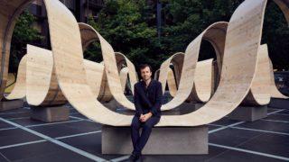 """Ideen-Feuerwerk: London Design Festival. Paul Cocksedge und seine Installation """"Please Be Seated"""", Foto: Mark Cocksedge"""