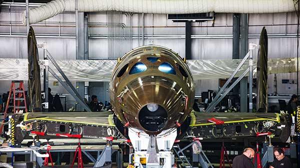 The new prototype of SpaceShipTwo