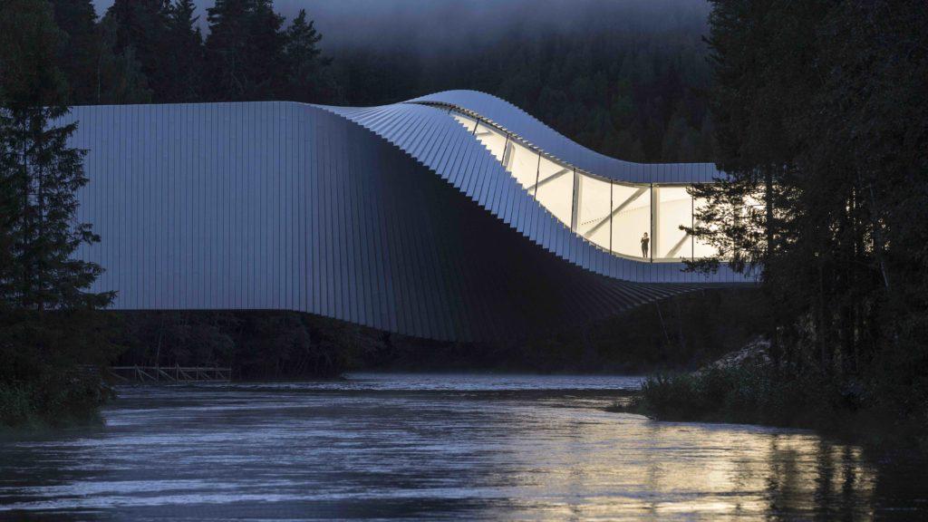 "Museumsneubau: Norwegens Kistefos Museum hat den ""Twist"" (Foto: Laurian Ghinitoiu)"