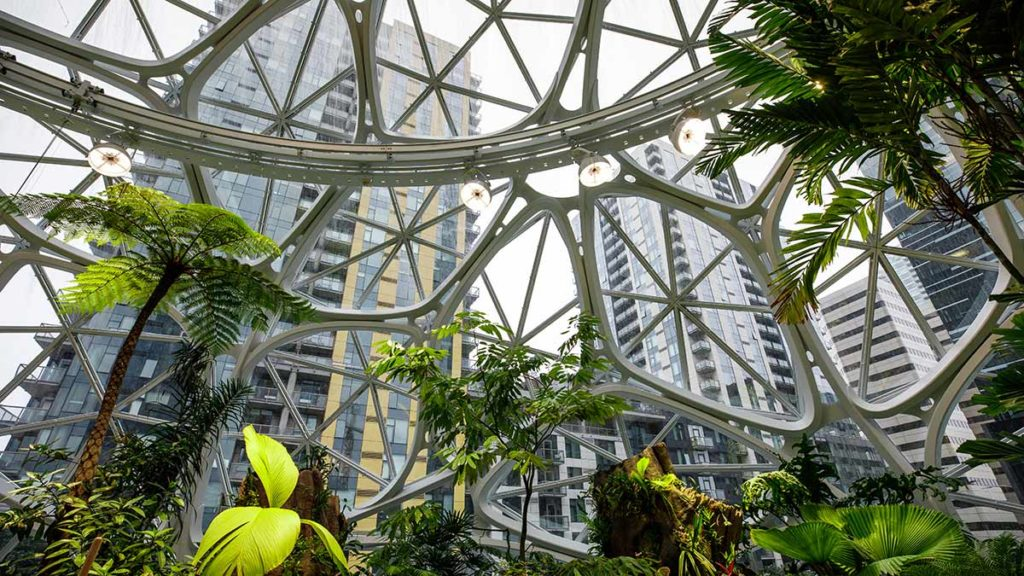 The Spheres, Amazon Headquaters in Seattle