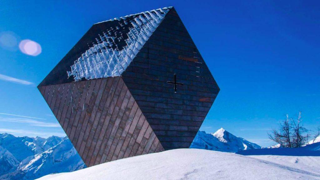Mario Botta, Granatkapelle Zillertal, 2013