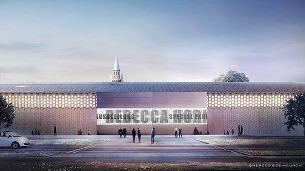 Ostfassade des Museums