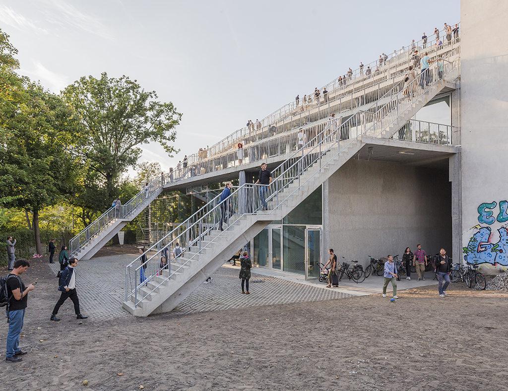 Terrassenhaus in Berlin (Foto: David von Becker)