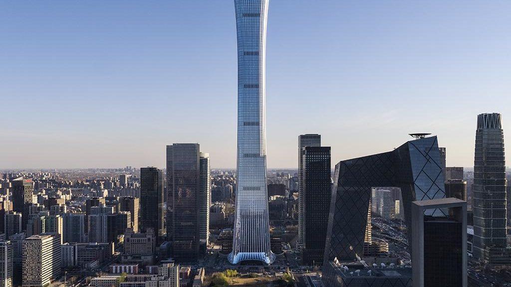 """""""China Zun"""": Pekings neues Wahrzeichen (Foto: HG Esch)"""