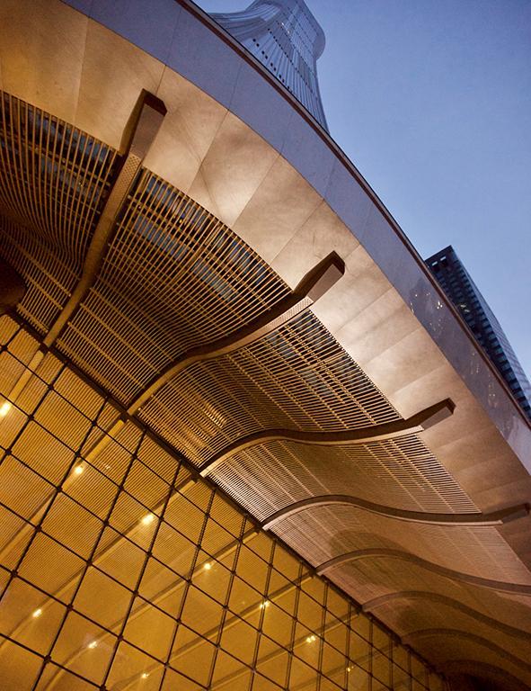 Design, das zur Geschichte der Millionenstadt und ihrer Bewohner passt. (Foto: Li Lei)