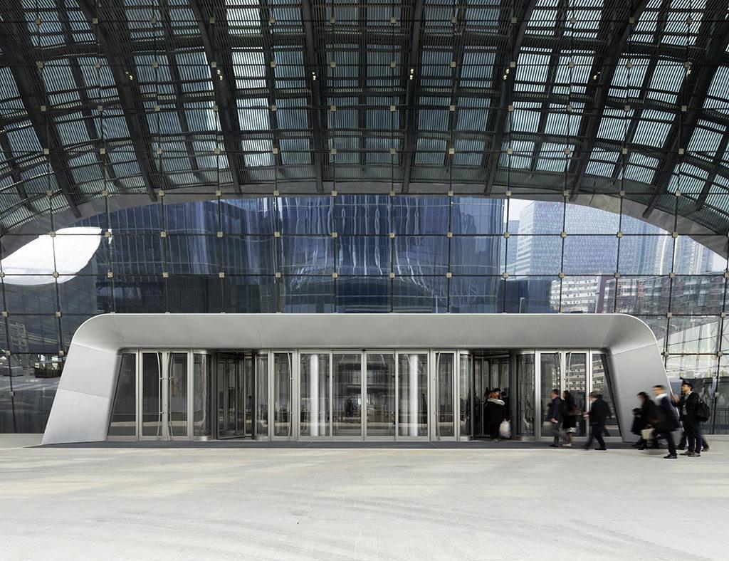 Im China Zun Tower regiert Offenheit bei maximaler Stabilität. (Foto: HG Esch)