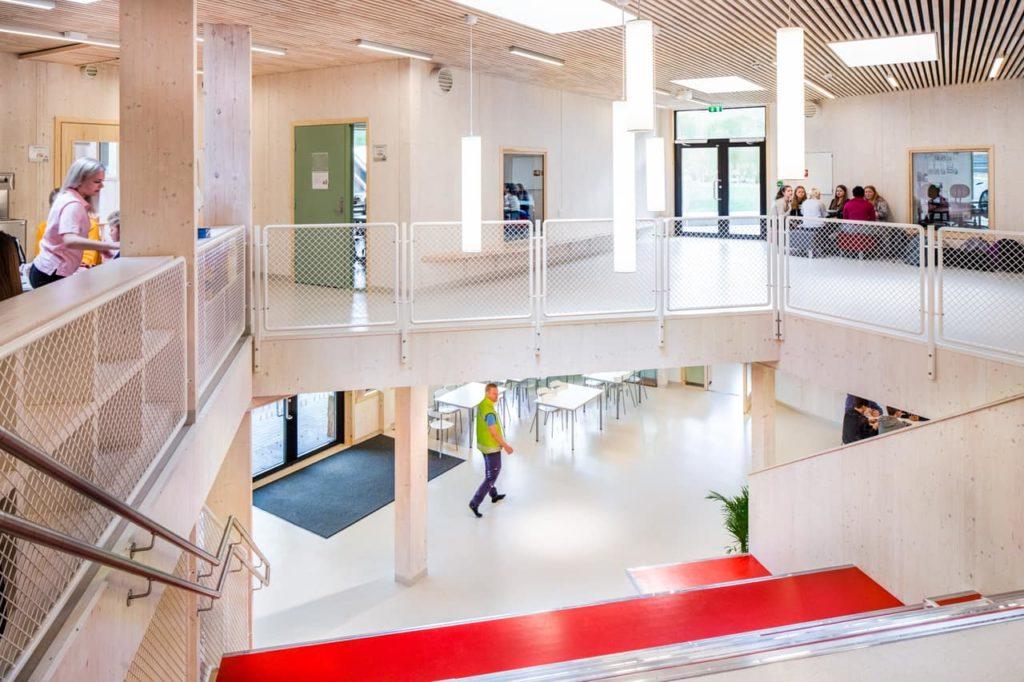 In Saulands Schule können alle Flächen pädagogisch genützt werden (Foto: Wolfgang Thaler)