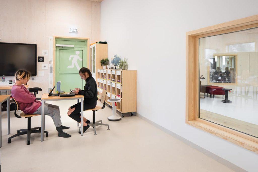 Immer in Sichtkontakt: Moderne Bildung in der norwegischen Schule (Foto: Wolfgang Thaler)
