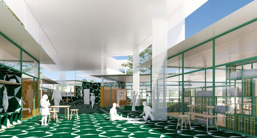 """Auch das Konzept für die """"Deutsche Schule Stiehle Cuenca"""" errang Platz eins eines Wettbewerbs. (Bild: PPAG)"""