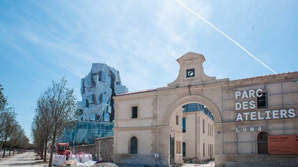 Der Parc des Ateliers in Arles
