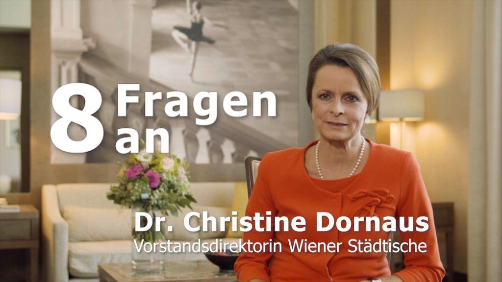 Christine Dornaus, Vorstand der Wiener Städtischen Versicherung