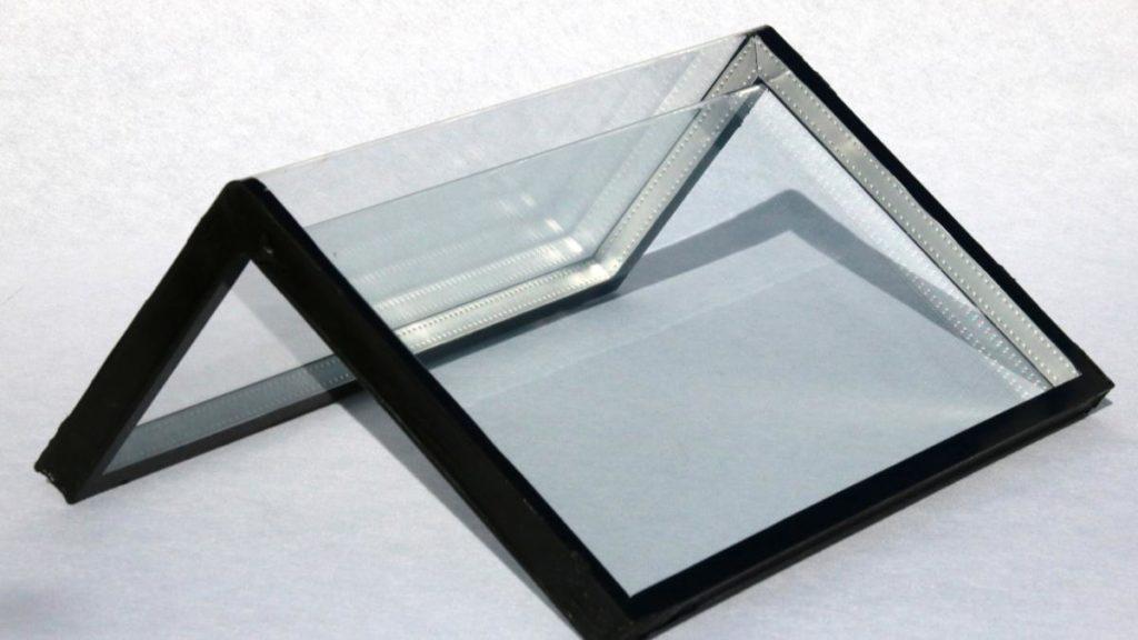 Prototyp Isolierglasscheibe