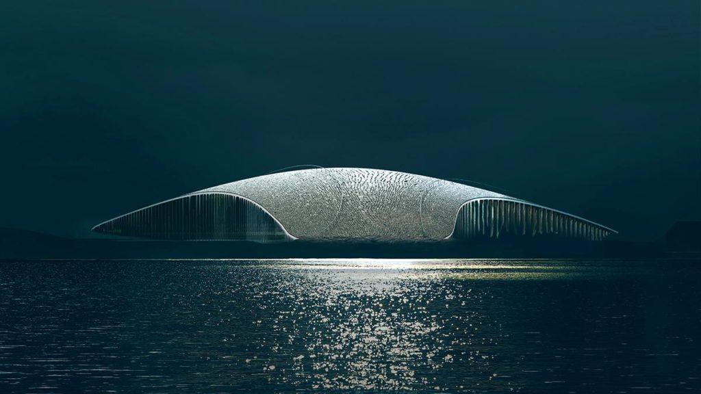 """""""The Whale"""": Die neue Arktis-Attraktion (Bild: MIR)"""