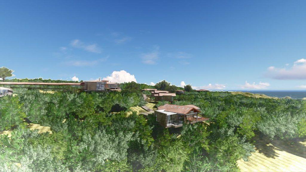 Durchdachter Öko-Luxus: Das Six Senses Resort auf Galapagos ist als Modellprojekt eines neuen, sinnvollen Öko-Tourismus konzipiert. (Grafik: Hitesh Mehta)