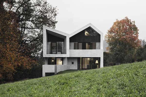 Haus in Aldrans, Front